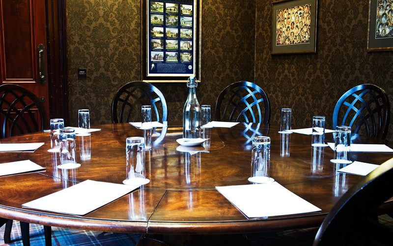A meeting room at Castle Leslie