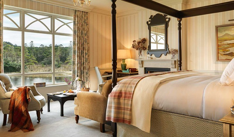 Luxury Room at Ballynahinch Castle