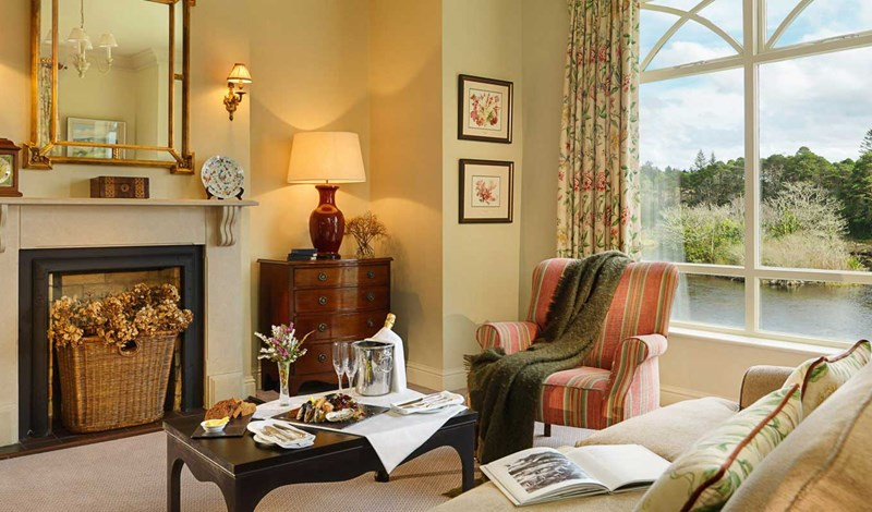 Riverside Suite at Ballynahinch Castle