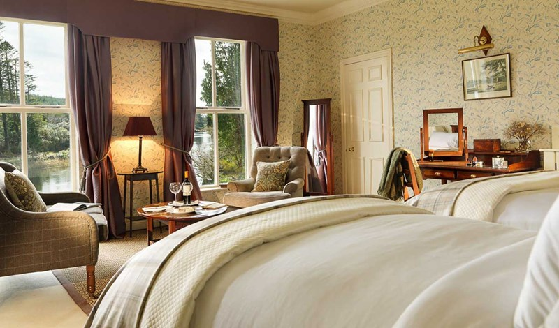 Superior Room at Ballynahinch Castle