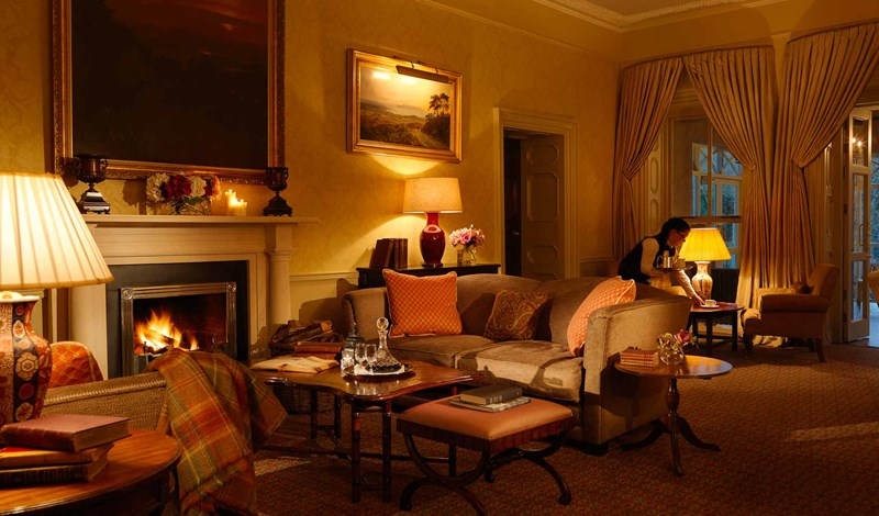 Hunt Room Ballynahinch Castle