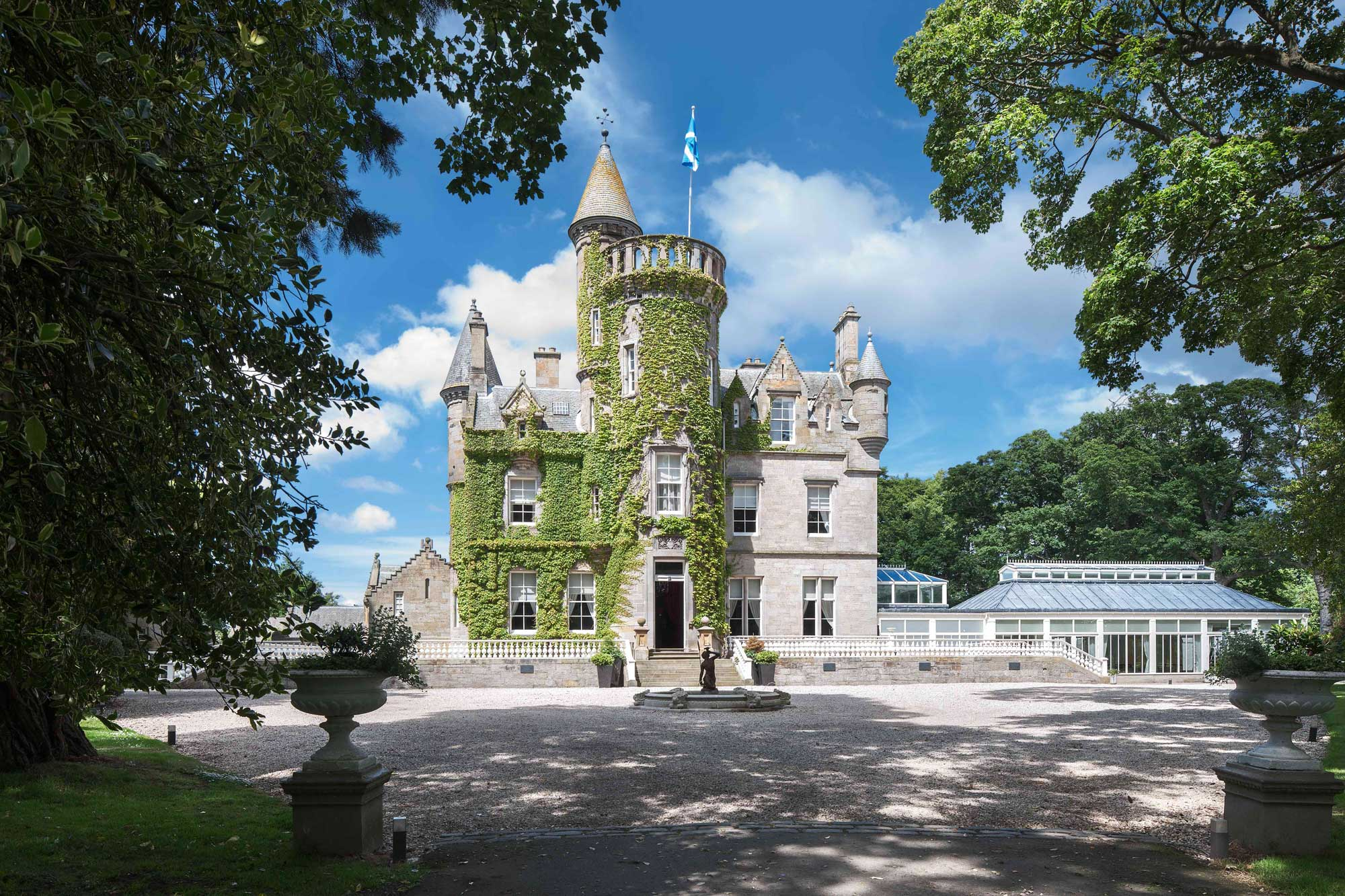 carlowrie castle - luxurious hotel castle accommodation in