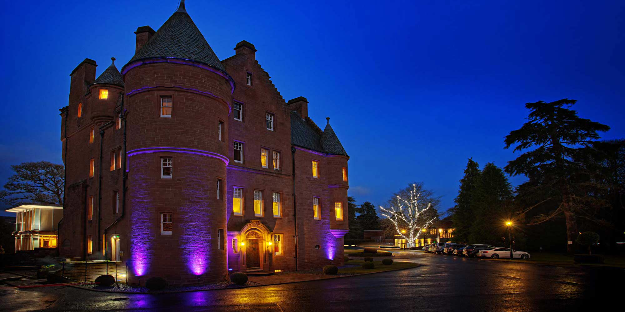 Fonab Castle Luxury 5 Star Castle Hotel In Highland Perthshire