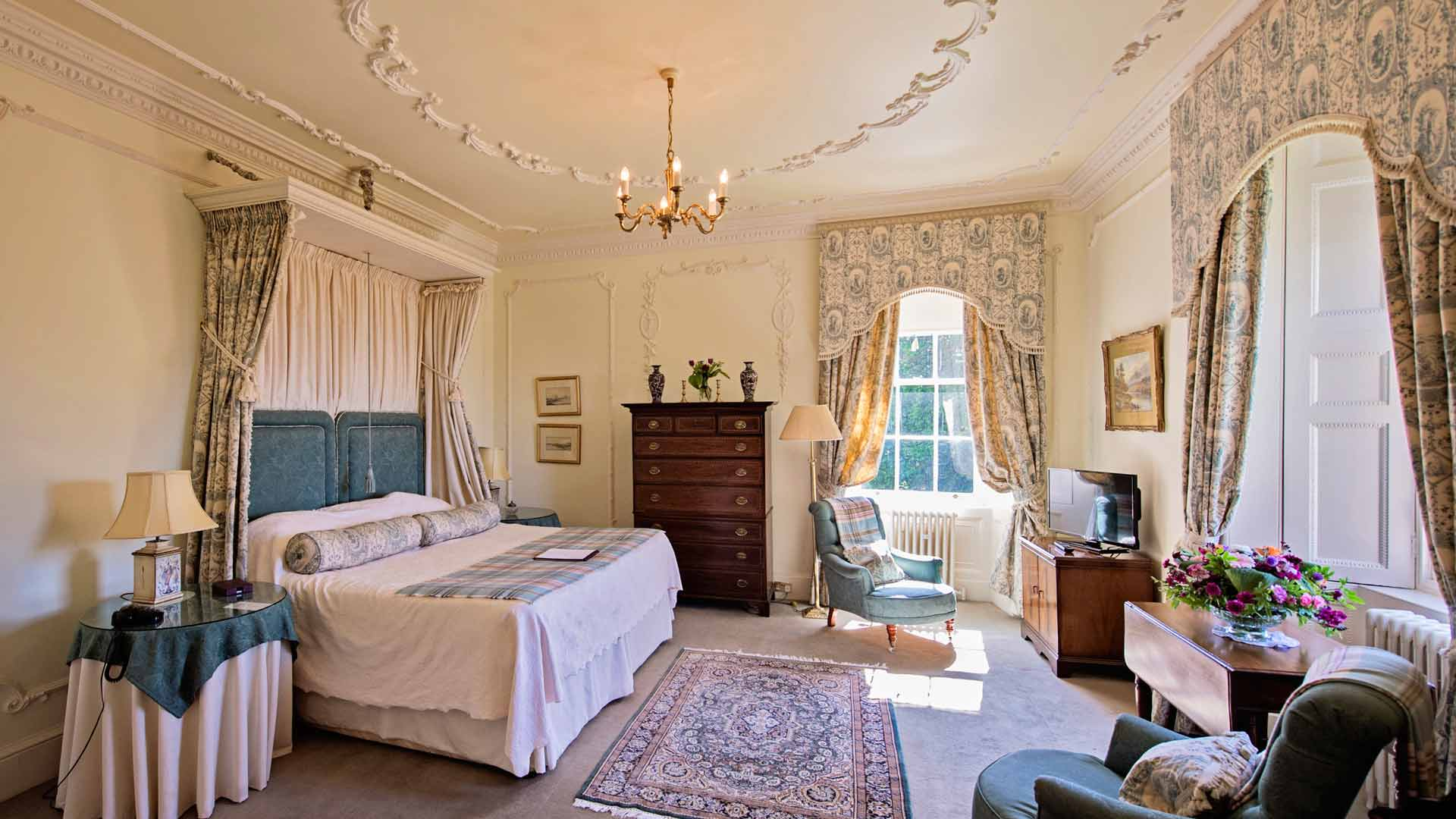 Bedrooms Glenapp Castle Is A 17 Bedroom Luxury Scottish
