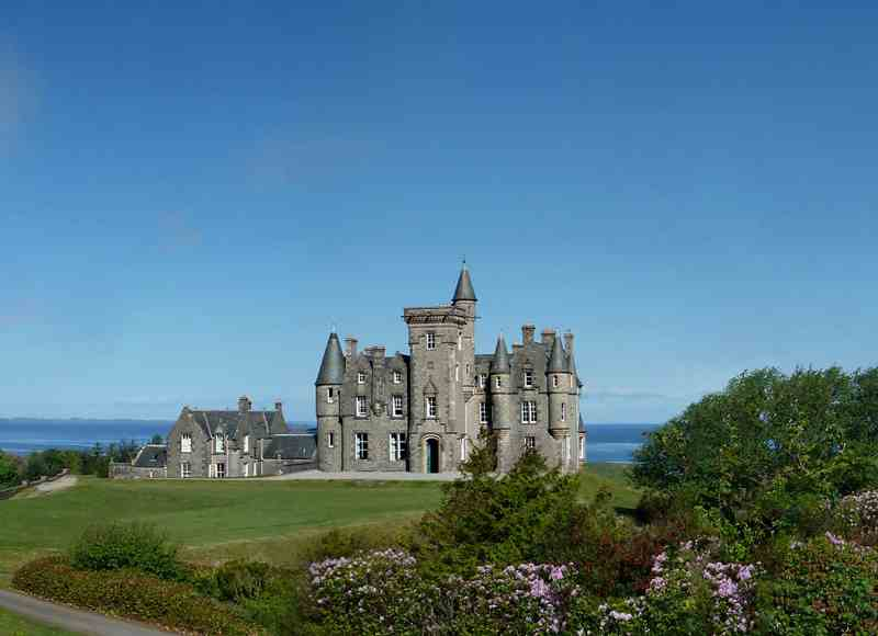 Castle Breaks by the Coast - Glengorm Castle