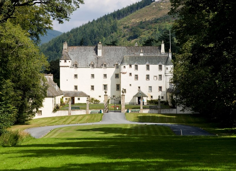 Traquair Castle