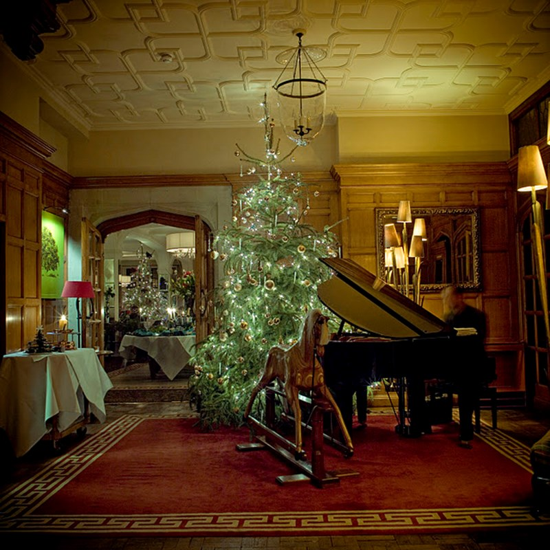 Top 5 Castle Hotels for Christmas