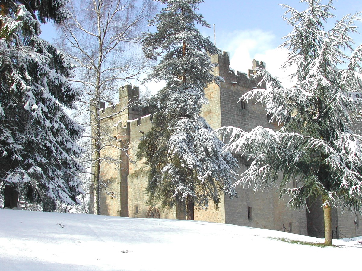 celebrate christmas at langley castle 2017