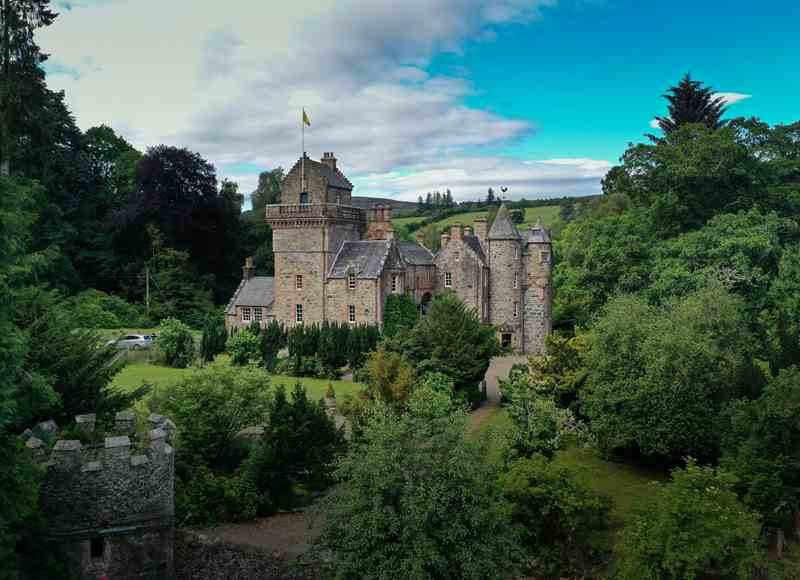 Castles To Rent For Small Groups - Blackcraig Castle