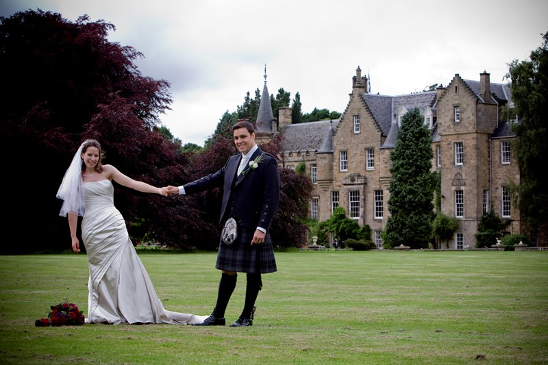 Traditional Scottish Castle Weddings