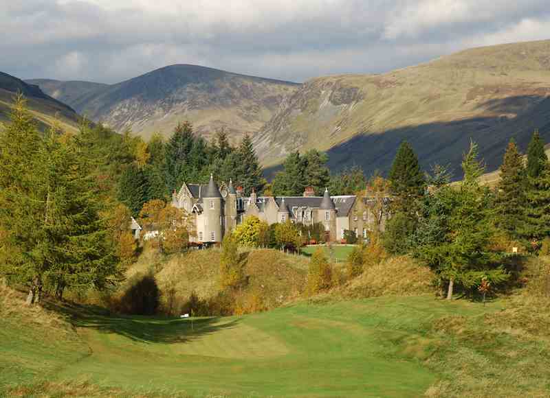 Castle Breaks in the Scottish Highlands - Dalmunzie Castle