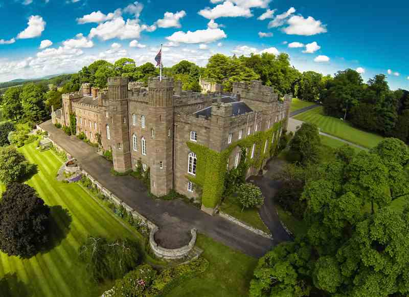 Castles To Rent For Small Groups - Balvaird Wing at Scone Palace