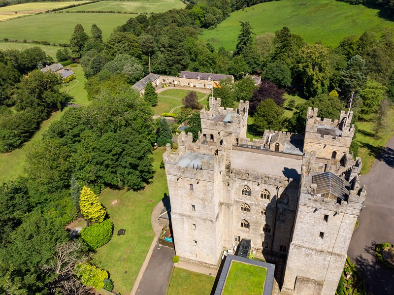 Langley Castle New Year 2021 Wedding