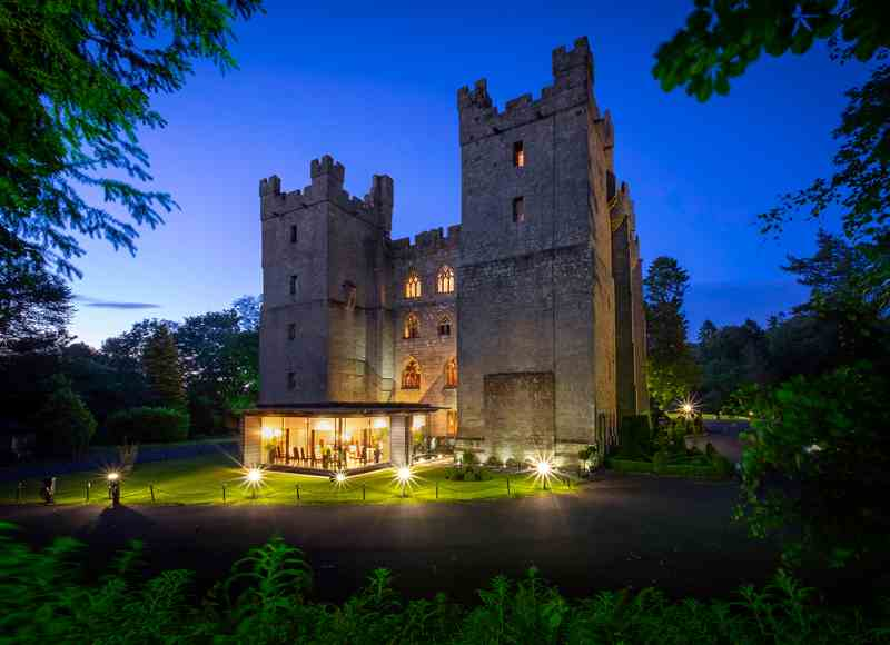 Family Christmas Breaks in the UK - Langley Castle