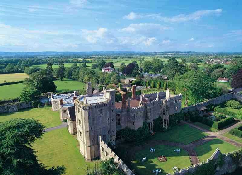 English Castle Breaks - Thornbury Castle