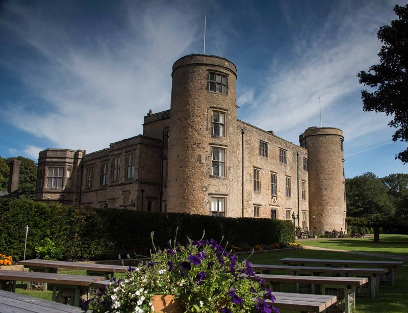 3 English Castles with Bedrooms in Towers