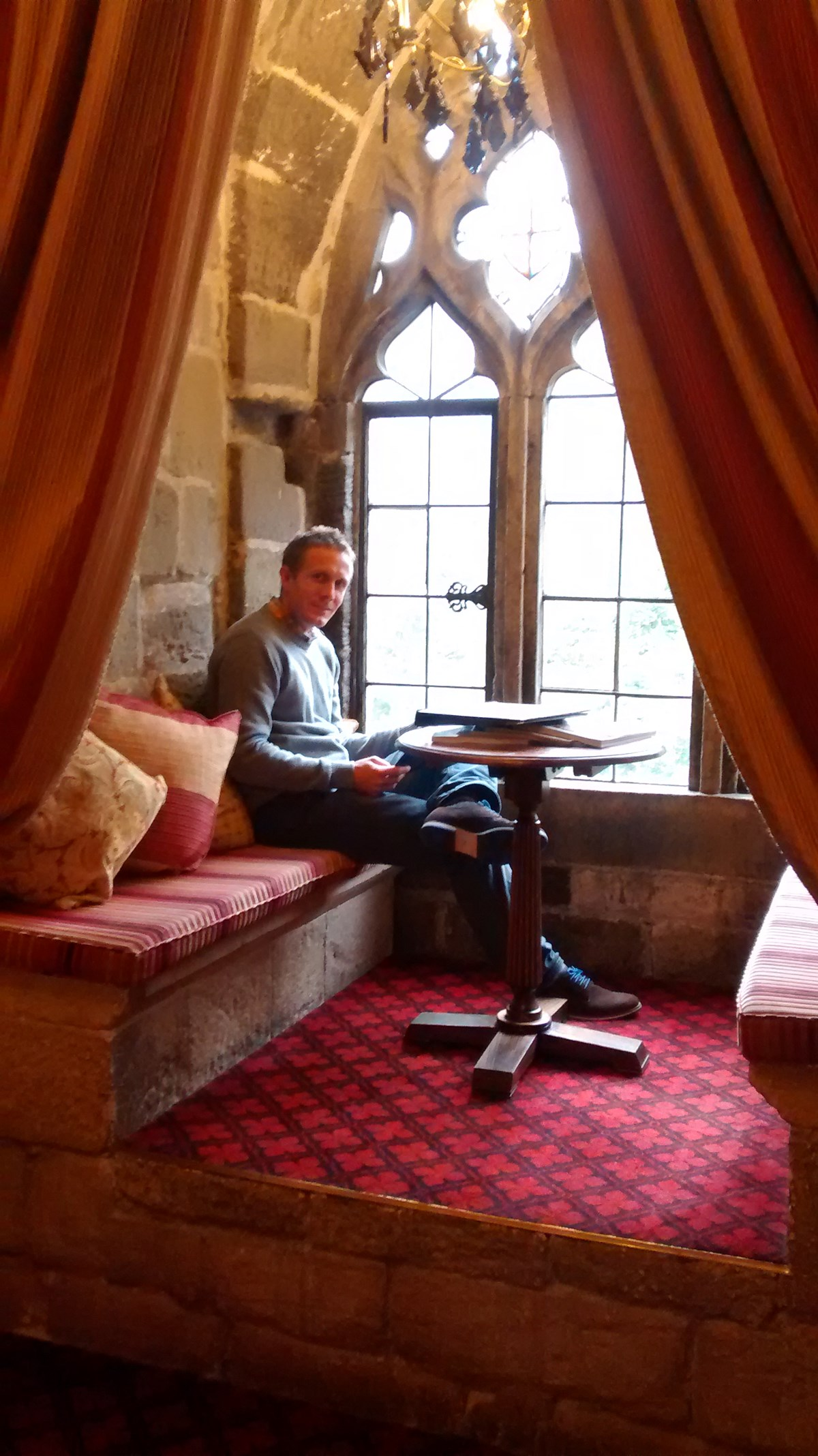 birthday treat at langley castle