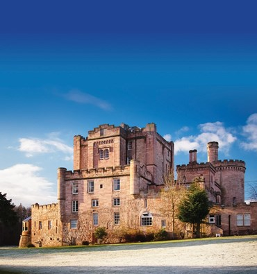 Celebrate New Year at Dalhousie Castle 2017