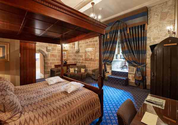 Langley Castle Bedroom 2