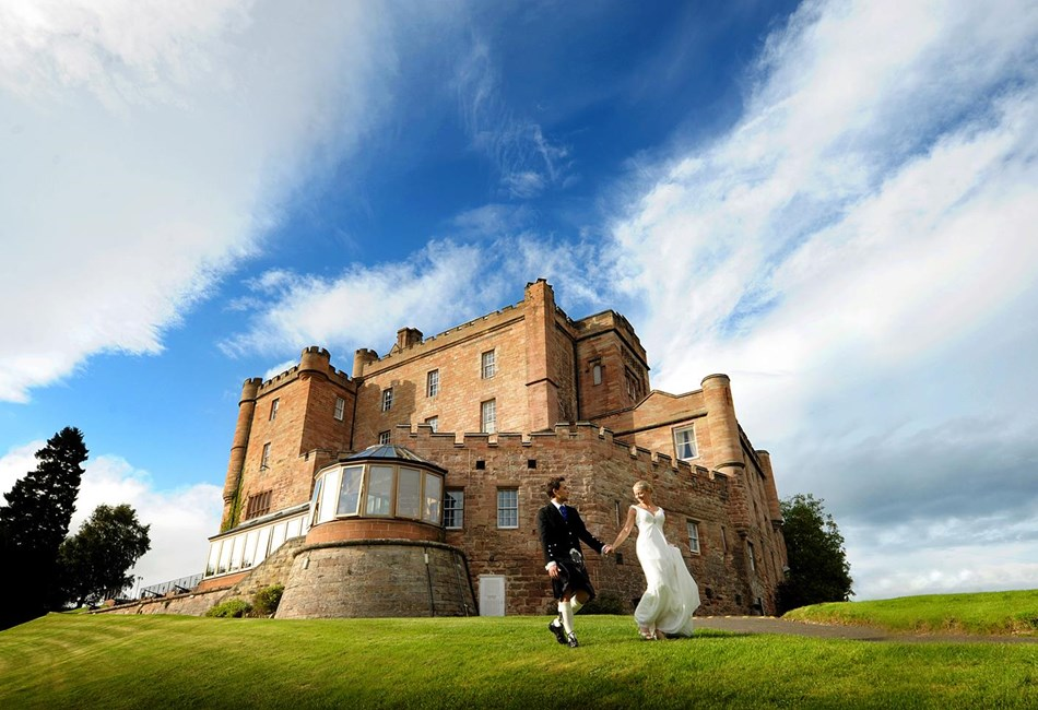 Wonderful Wedding for Two Package at Dalhousie Castle, Edinburgh