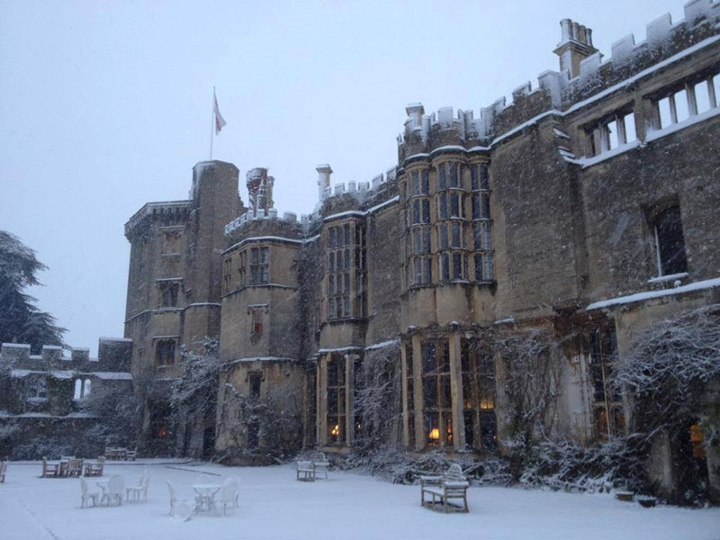 Can I Book a Castle for Christmas?