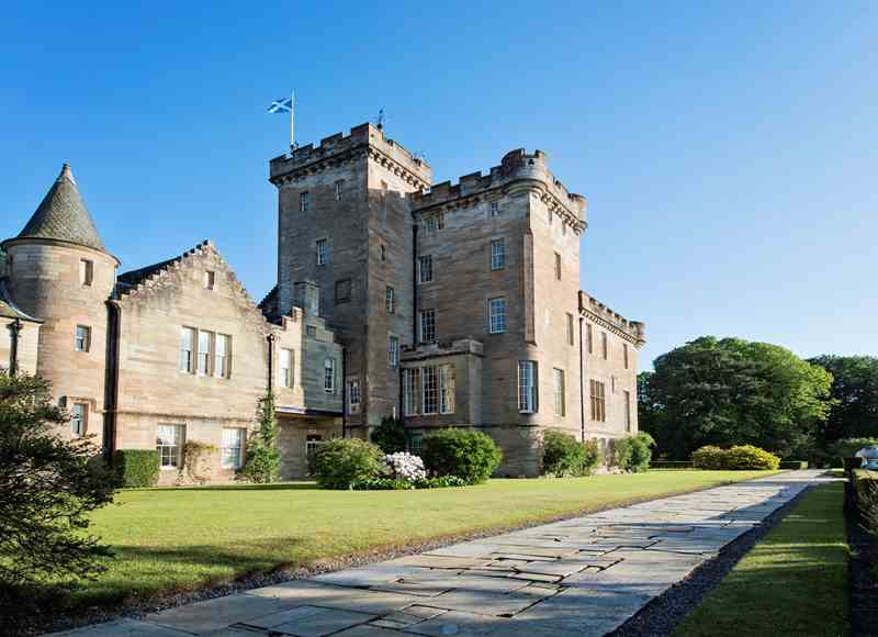 Luxury Castle Hire - Glenapp Castle