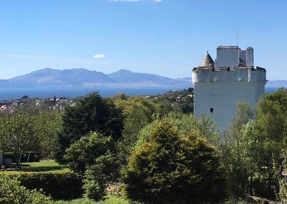 View towards the coast