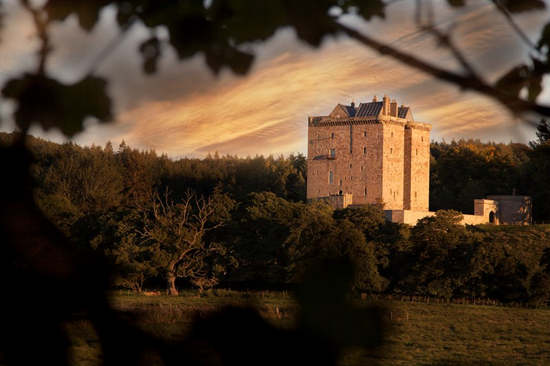 Borthwick Castle Dining Experience and Overnight Stay
