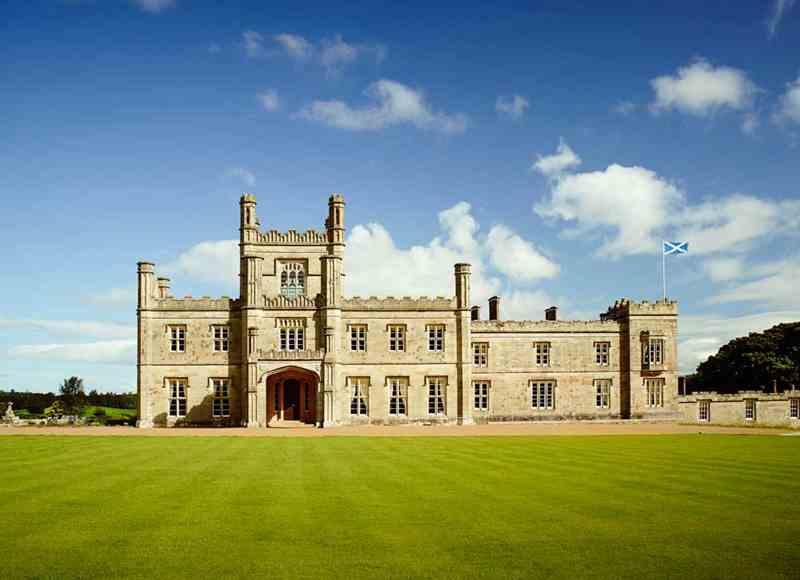Family Christmas Breaks in the UK - Blairquhan Castle