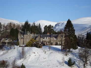 Celebrate Christmas at Dalmunzie Castle 2017