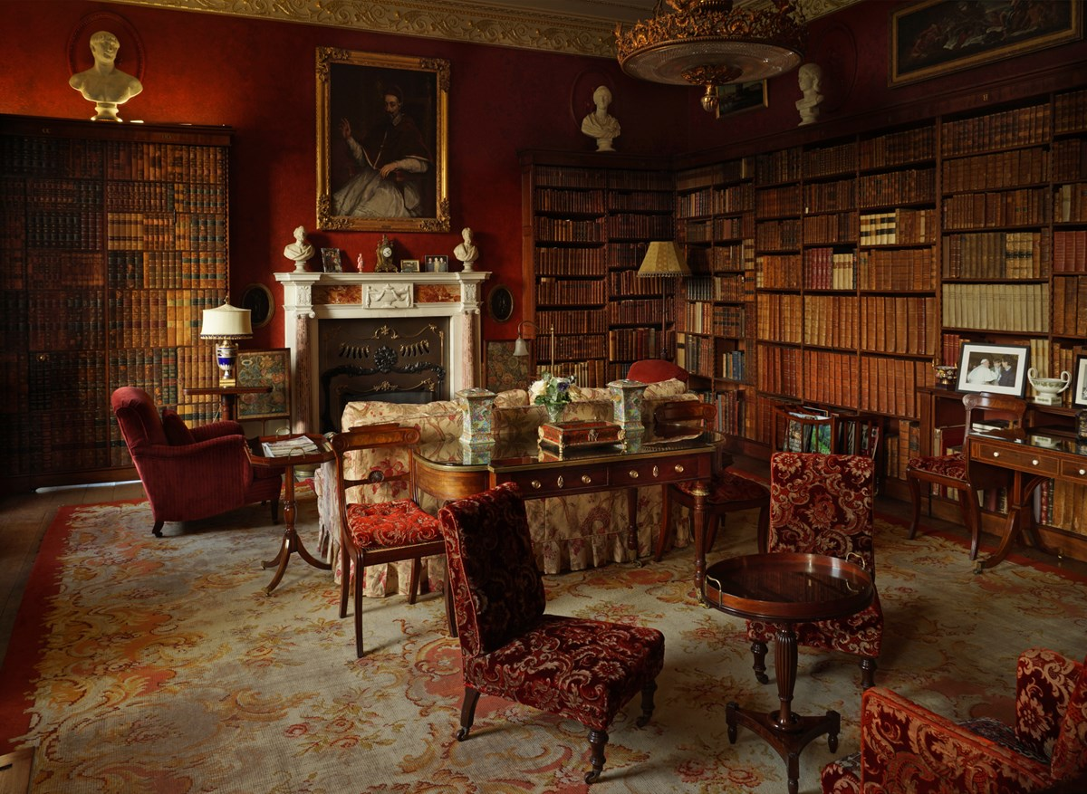 One of the Hall's drawing rooms