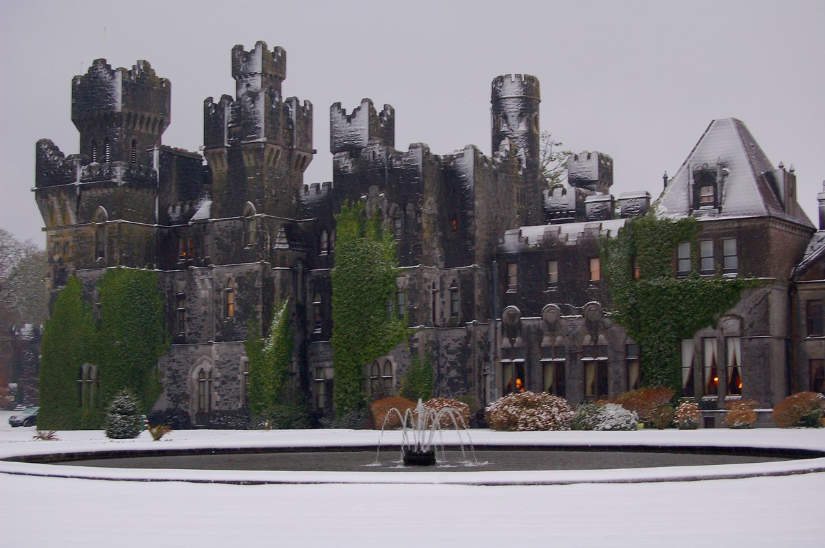 celebrate christmas at ashford castle 2017