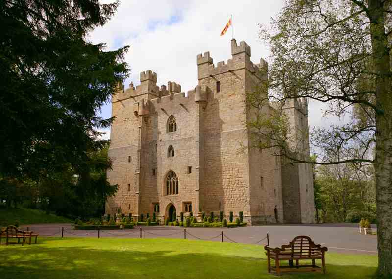 Castle Hotels in England & Wales