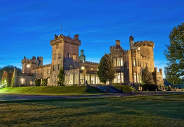 Celebrate Christmas in True Irish Style at Dromoland Castle.